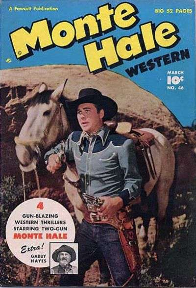 Monte Hale Western #46 comic books - cover scans photos Monte Hale Western #46 comic books - covers, picture gallery
