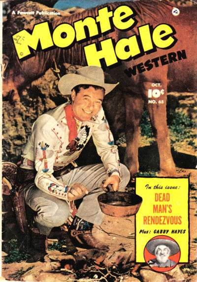Monte Hale Western #65 comic books for sale