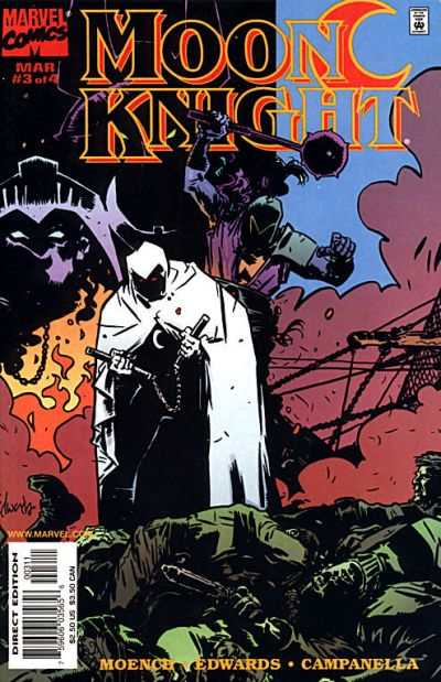 Moon Knight #3 comic books - cover scans photos Moon Knight #3 comic books - covers, picture gallery