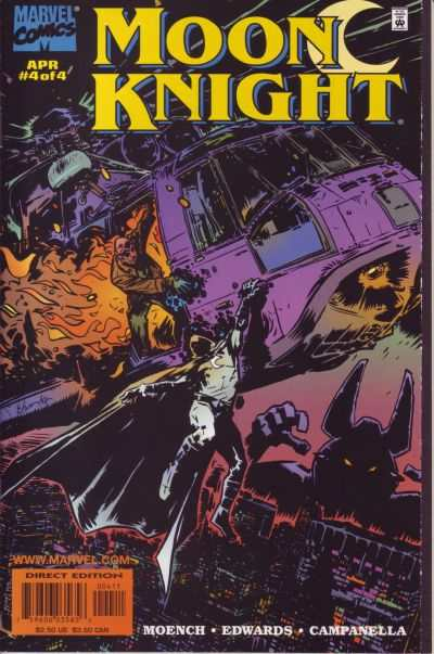Moon Knight #4 comic books for sale