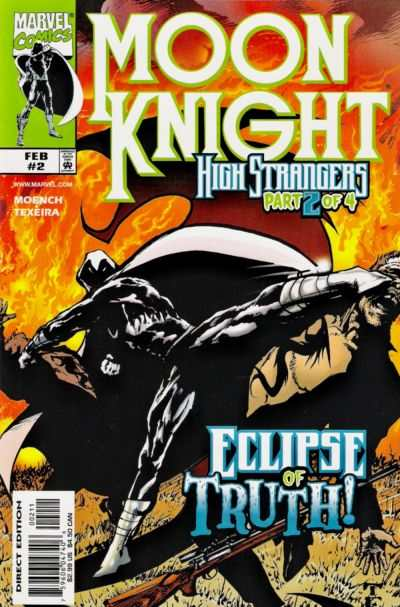 Moon Knight #2 comic books - cover scans photos Moon Knight #2 comic books - covers, picture gallery