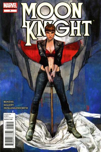 Moon Knight #7 comic books - cover scans photos Moon Knight #7 comic books - covers, picture gallery