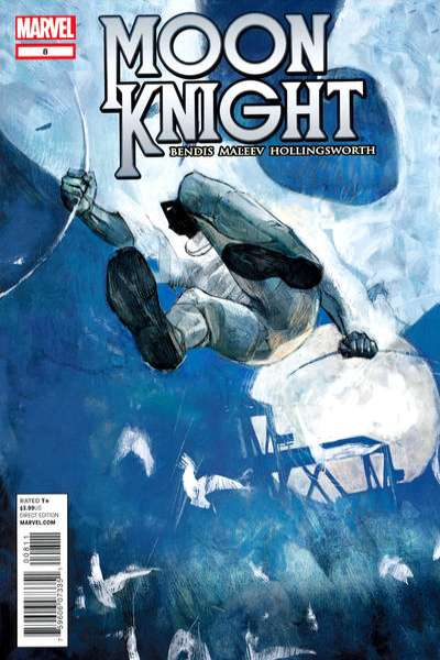 Moon Knight #8 comic books - cover scans photos Moon Knight #8 comic books - covers, picture gallery