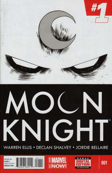 Moon Knight comic books