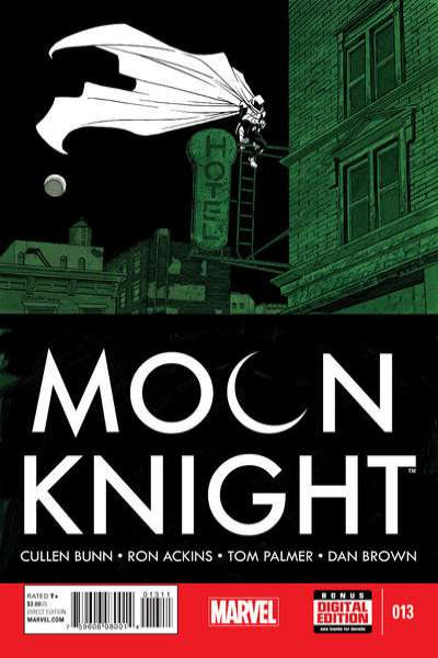Moon Knight #13 comic books for sale