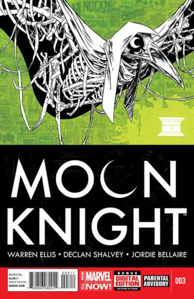 Moon Knight #3 comic books for sale