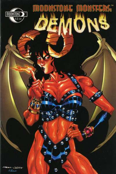 Moonstone Monsters: Demons comic books