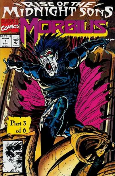 Morbius: The Living Vampire #1 Comic Books - Covers, Scans, Photos  in Morbius: The Living Vampire Comic Books - Covers, Scans, Gallery