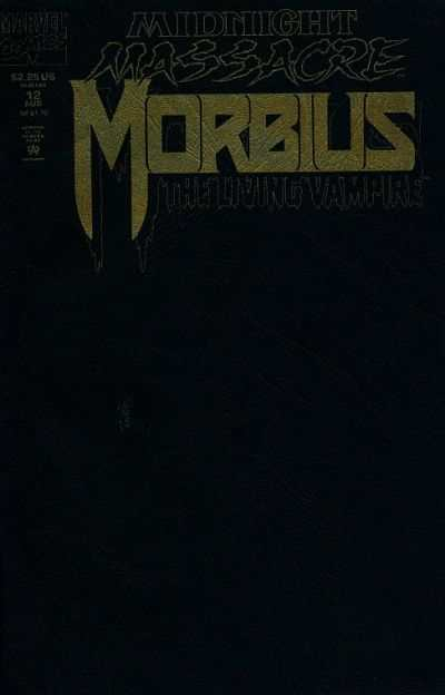 Morbius: The Living Vampire #12 comic books - cover scans photos Morbius: The Living Vampire #12 comic books - covers, picture gallery