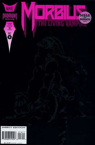 Morbius: The Living Vampire #16 Comic Books - Covers, Scans, Photos  in Morbius: The Living Vampire Comic Books - Covers, Scans, Gallery