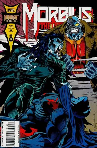 Morbius: The Living Vampire #18 comic books - cover scans photos Morbius: The Living Vampire #18 comic books - covers, picture gallery