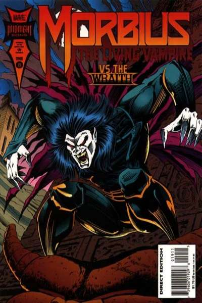 Morbius: The Living Vampire #19 comic books - cover scans photos Morbius: The Living Vampire #19 comic books - covers, picture gallery