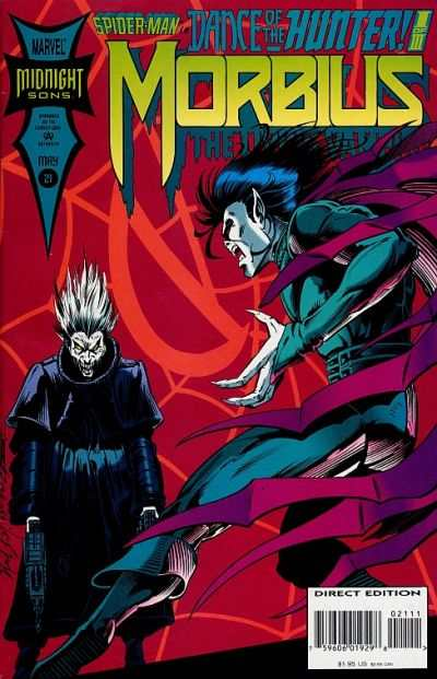 Morbius: The Living Vampire #21 Comic Books - Covers, Scans, Photos  in Morbius: The Living Vampire Comic Books - Covers, Scans, Gallery