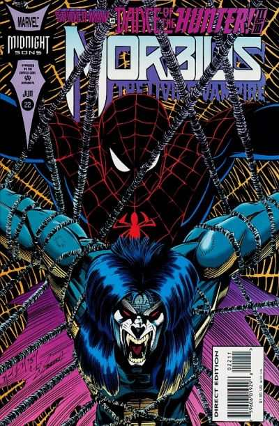 Morbius: The Living Vampire #22 comic books - cover scans photos Morbius: The Living Vampire #22 comic books - covers, picture gallery