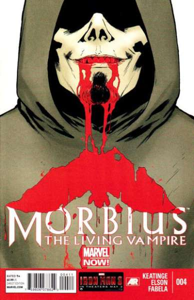 Morbius: The Living Vampire #4 comic books for sale