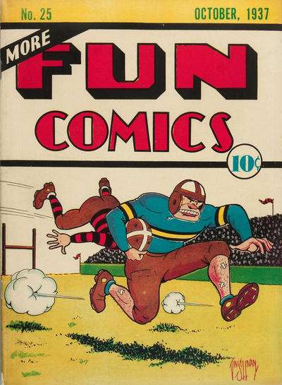 More Fun Comics #25 Comic Books - Covers, Scans, Photos  in More Fun Comics Comic Books - Covers, Scans, Gallery