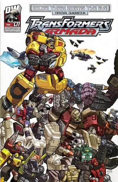 More Than Meets the Eye: Transformers Armada Comic Books. More Than Meets the Eye: Transformers Armada Comics.