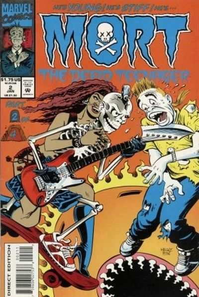 Mort the Dead Teenager #2 comic books - cover scans photos Mort the Dead Teenager #2 comic books - covers, picture gallery