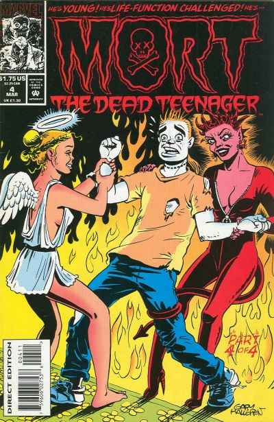 Mort the Dead Teenager #4 comic books - cover scans photos Mort the Dead Teenager #4 comic books - covers, picture gallery