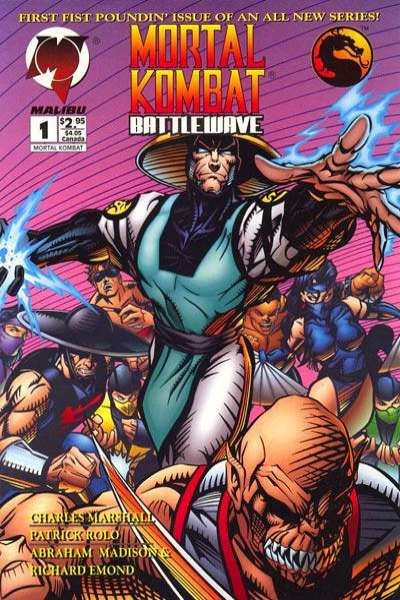 Mortal Kombat: Battlewave comic books