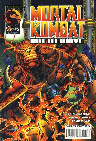 Mortal Kombat: Battlewave #5 comic books for sale