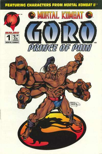 Mortal Kombat: Goro: Prince of Pain comic books
