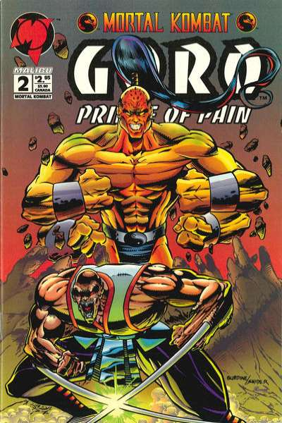 Mortal Kombat: Goro: Prince of Pain #2 comic books for sale