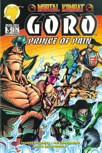 Mortal Kombat: Goro: Prince of Pain #3 comic books for sale
