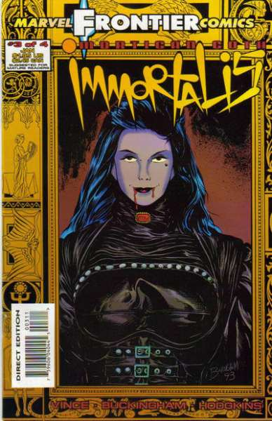 Mortigan Goth: Immortalis #3 comic books for sale