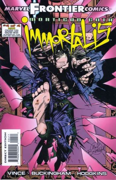 Mortigan Goth: Immortalis #4 comic books for sale