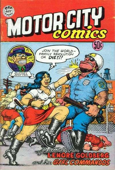 Motor City Comics comic books