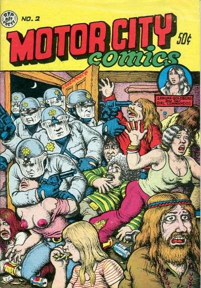 Motor City Comics #2 Comic Books - Covers, Scans, Photos  in Motor City Comics Comic Books - Covers, Scans, Gallery