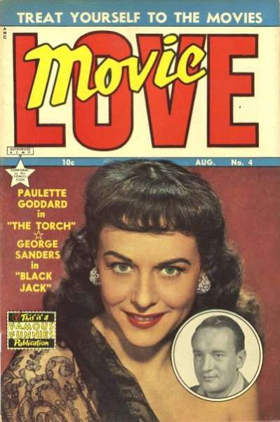 Movie Love #4 Comic Books - Covers, Scans, Photos  in Movie Love Comic Books - Covers, Scans, Gallery