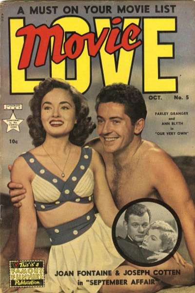 Movie Love #5 Comic Books - Covers, Scans, Photos  in Movie Love Comic Books - Covers, Scans, Gallery