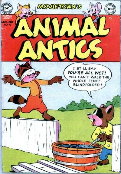 Movie Town Animal Antics #42 comic books - cover scans photos Movie Town Animal Antics #42 comic books - covers, picture gallery