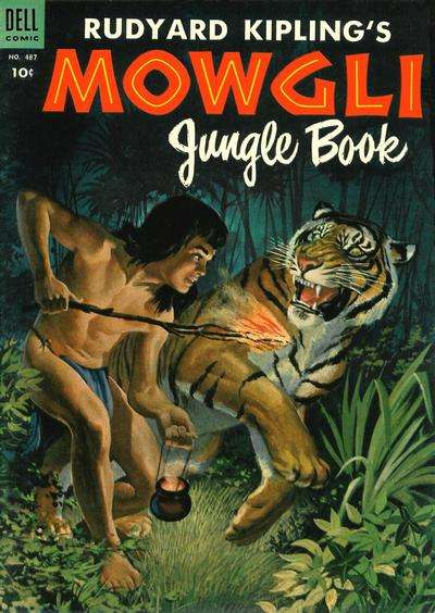 Mowgli Jungle Book comic books