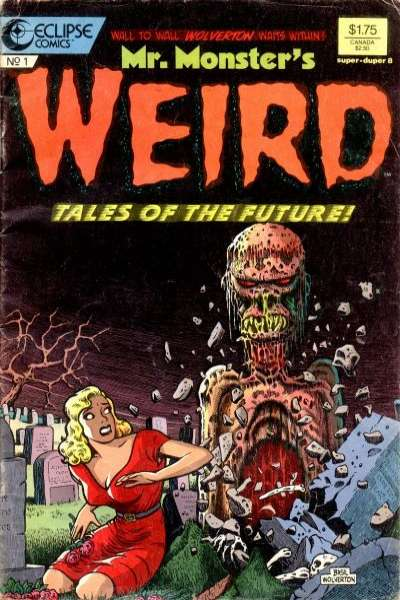 Mr. Monster's Weird Tales of the Future #1 comic books for sale