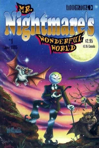Mr. Nightmare's Wonderful World #1 comic books - cover scans photos Mr. Nightmare's Wonderful World #1 comic books - covers, picture gallery