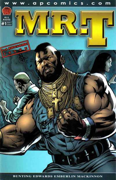 Mr. T #1 comic books - cover scans photos Mr. T #1 comic books - covers, picture gallery