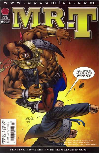 Mr. T #2 Comic Books - Covers, Scans, Photos  in Mr. T Comic Books - Covers, Scans, Gallery