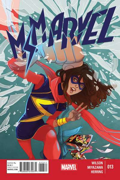 Ms. Marvel #13 Comic Books - Covers, Scans, Photos  in Ms. Marvel Comic Books - Covers, Scans, Gallery