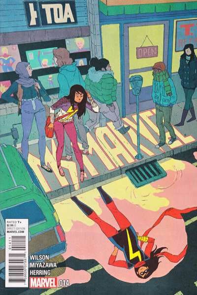 Ms. Marvel #14 Comic Books - Covers, Scans, Photos  in Ms. Marvel Comic Books - Covers, Scans, Gallery