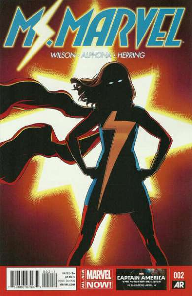 Ms. Marvel #2 Comic Books - Covers, Scans, Photos  in Ms. Marvel Comic Books - Covers, Scans, Gallery