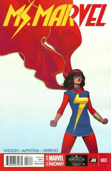 Ms. Marvel #3 Comic Books - Covers, Scans, Photos  in Ms. Marvel Comic Books - Covers, Scans, Gallery