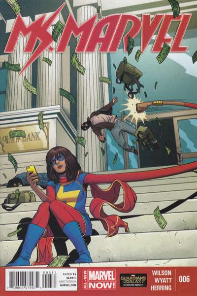 Ms. Marvel #6 Comic Books - Covers, Scans, Photos  in Ms. Marvel Comic Books - Covers, Scans, Gallery