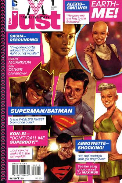 Multiversity: The Just Comic Books. Multiversity: The Just Comics.