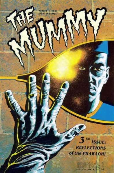 Mummy #3 Comic Books - Covers, Scans, Photos  in Mummy Comic Books - Covers, Scans, Gallery