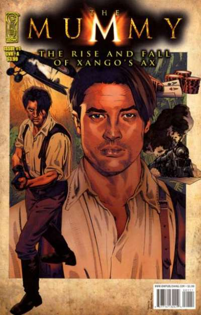 Mummy: The Rise and Fall of Xango's Ax comic books