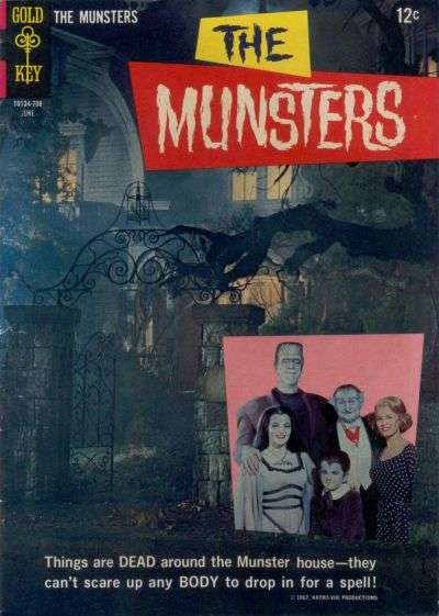 Munsters #13 Comic Books - Covers, Scans, Photos  in Munsters Comic Books - Covers, Scans, Gallery