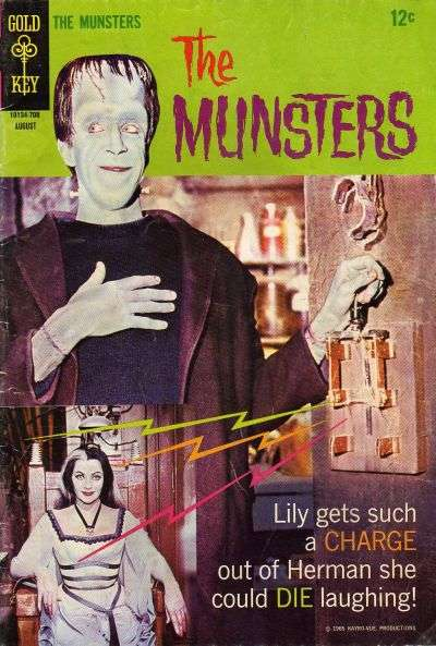 Munsters #14 Comic Books - Covers, Scans, Photos  in Munsters Comic Books - Covers, Scans, Gallery
